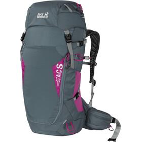 Jack Wolfskin Crosstrail 30 ST Backpack, storm grey